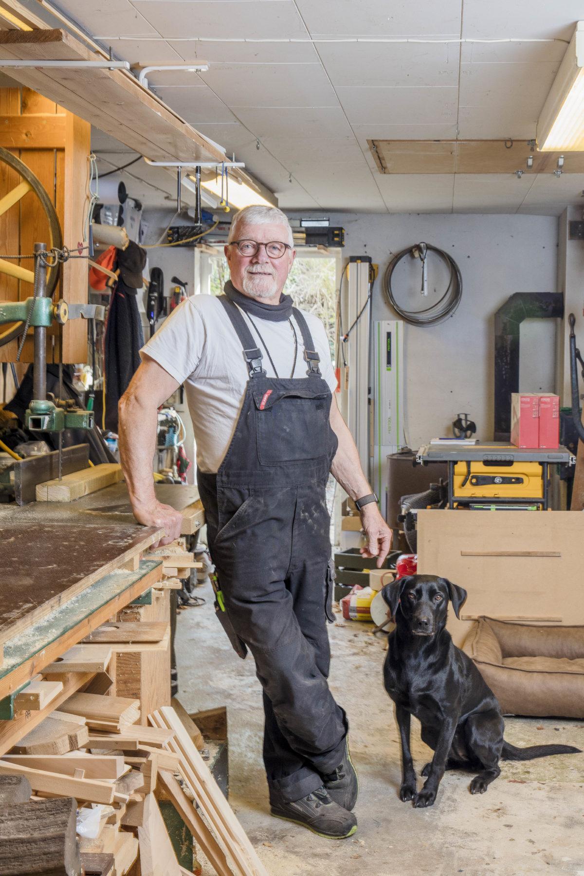 HUGO MAX NIELSEN, 70 år, handyman