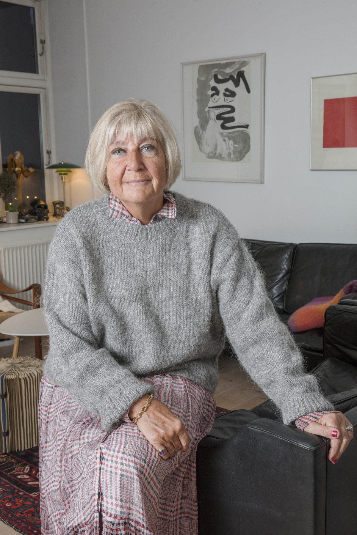 METTE WEBER, 69 år, familierådgiver, forfatter