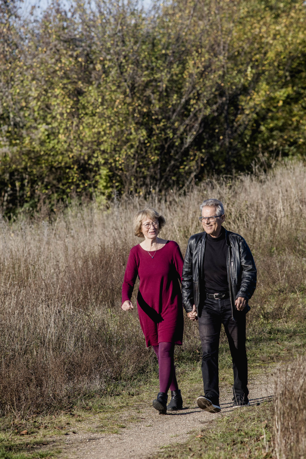 ANNELISE OG NILS STAHLSCHMIDT, 77 og 78 år, psykolog og coach, parterapeuter